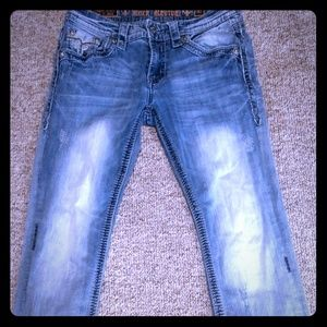 Rock Revival Jeans. Phoenix Straight